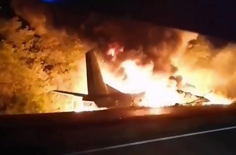 Katastrofa samolotu An-26 pod Charkowem