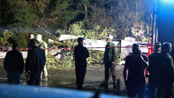 Katastrofa samolotu An-26 pod Charkowem - Sputnik Polska