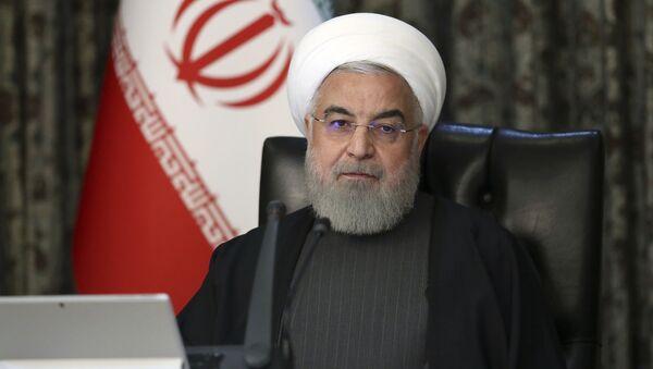 Prezydent Iranu Hasan Rouhani. - Sputnik Polska