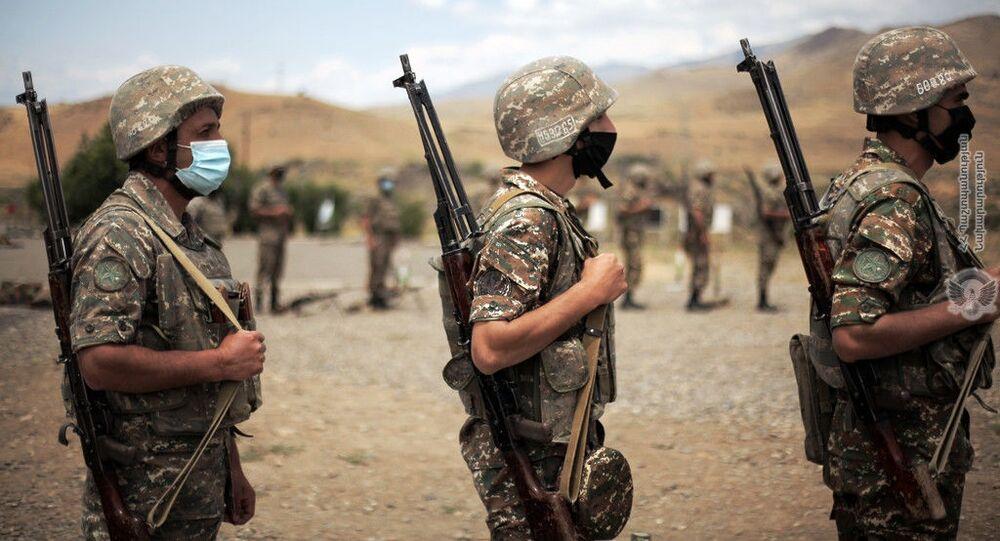 Żołnierze z Armenii