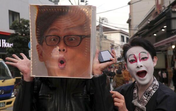 Turysta w Japonii - Sputnik Polska
