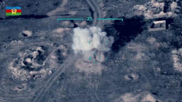 Ministerstwo Obrony opublikowało film przedstawiający rzekome zniszczenie armeńskiego sprzętu wojskowego na linii kontaktowej w Górskim Karabachu - Sputnik Polska