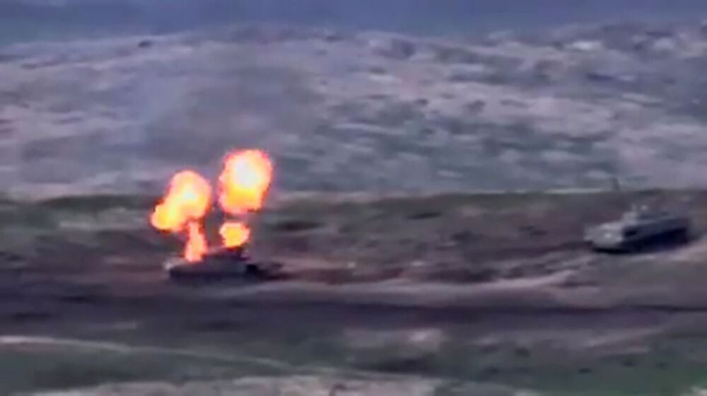 Walki w Górskim Karabachu