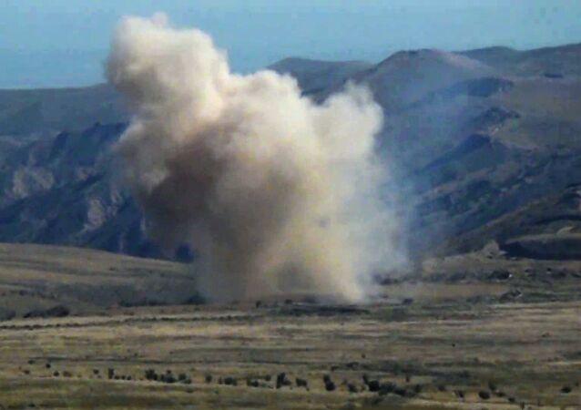 Siły Zbrojne Azerbejdżanu prowadzą działania bojowe w Górskim Karabachu