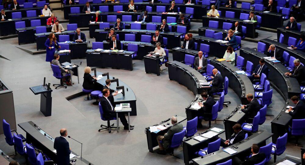 Posiedzenie Bundestagu