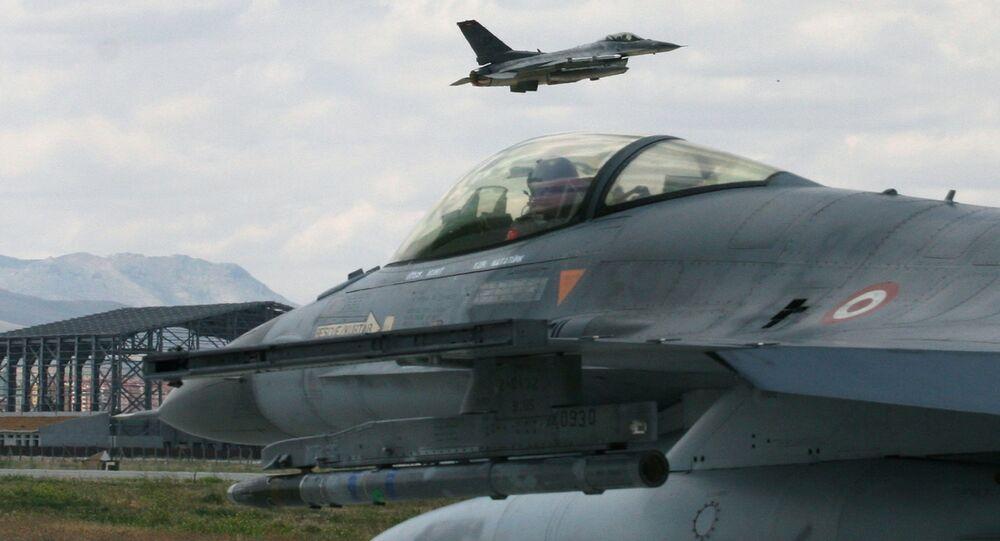 Myśliwce F-16 Sił Powietrznych Turcji