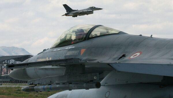 Myśliwce F-16 Sił Powietrznych Turcji - Sputnik Polska