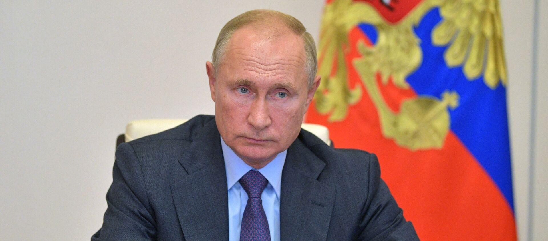 Prezydent Rosji Władimir Putin - Sputnik Polska, 1920, 18.03.2021