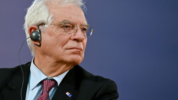 Szef unijnej dyplomacji Josep Borrell. - Sputnik Polska