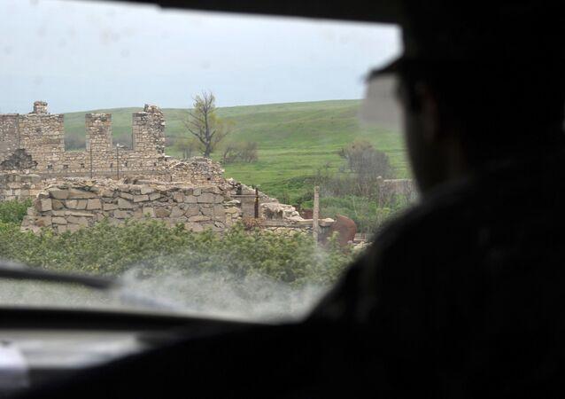 Górski Karabach. Zdjęcie archiwalne