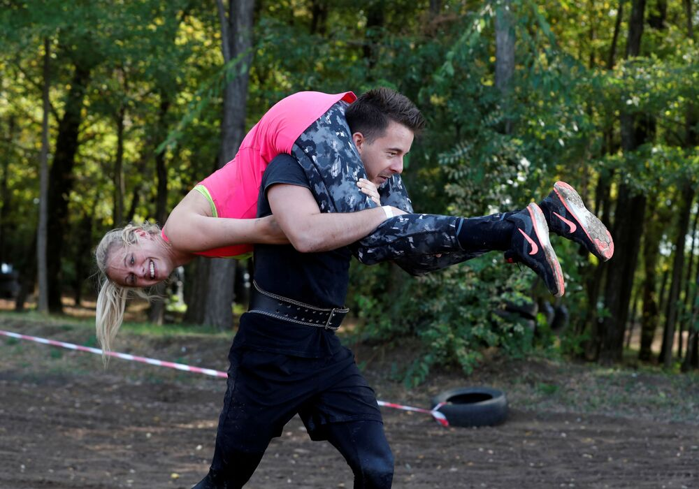 Bieg z żoną na Węgrzech