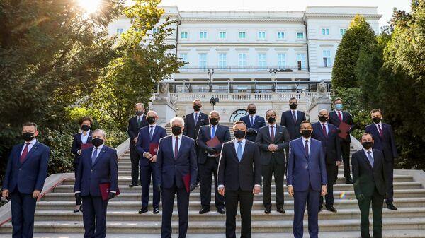 Powołanie nowych ministrów przez Andrzeja Dudę, 6 października 2020 - Sputnik Polska