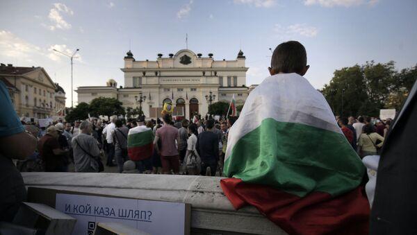 Protesty w Bułgarii - Sputnik Polska
