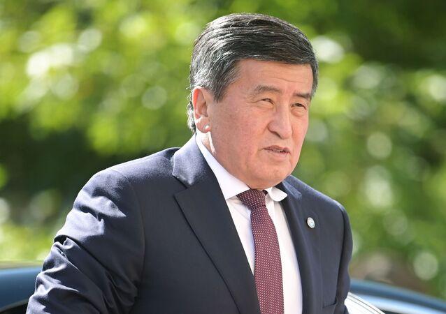 Prezydent Kirgistanu Sooronbaj Dżeenbekow