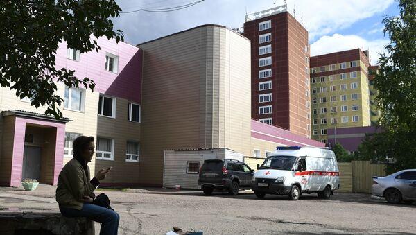 Szpital Ratunkowy Nr 1 w Omsku. - Sputnik Polska