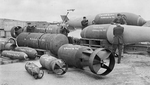 Brytyjska bomba Tallboy - Sputnik Polska