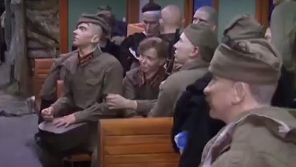 """Droga przez wojnę: w Rosji uruchomiono """"Pociąg Zwycięstwa"""" - Sputnik Polska"""