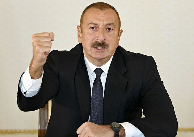 Prezydent Ilham Alijew przemawia do mieszkańców Azerbejdżanu