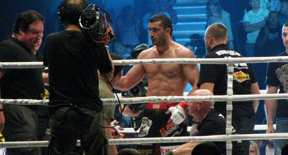 Zawodnik MMA Mamed Chalidow