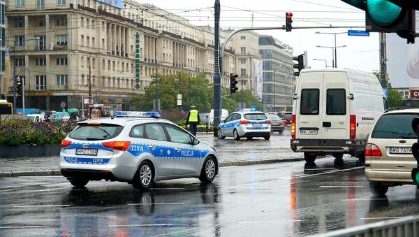 Protest taksówkarzy w Warszawie - Sputnik Polska