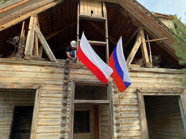 Budynek Sztabu 1. Dywizji Kościuszkowców pod Riazaniem, Rosja