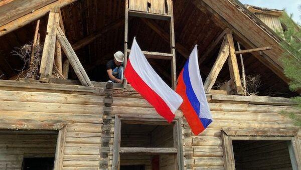Budynek Sztabu 1. Dywizji Kościuszkowców pod Riazaniem, Rosja - Sputnik Polska