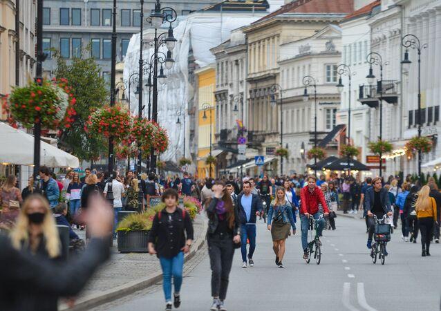 Mieszkańcy Warszawy