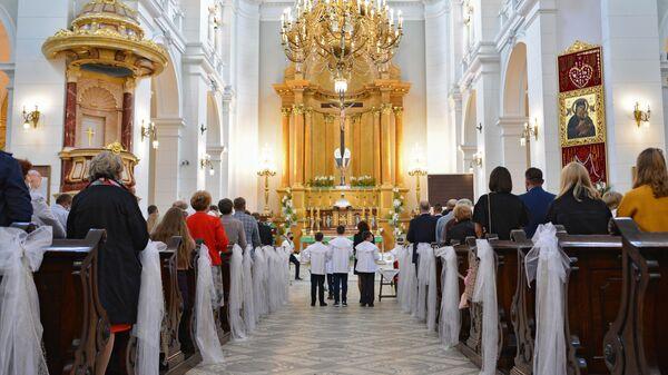 Kościół Najświętszego Zbawiciela w Warszawie - Sputnik Polska