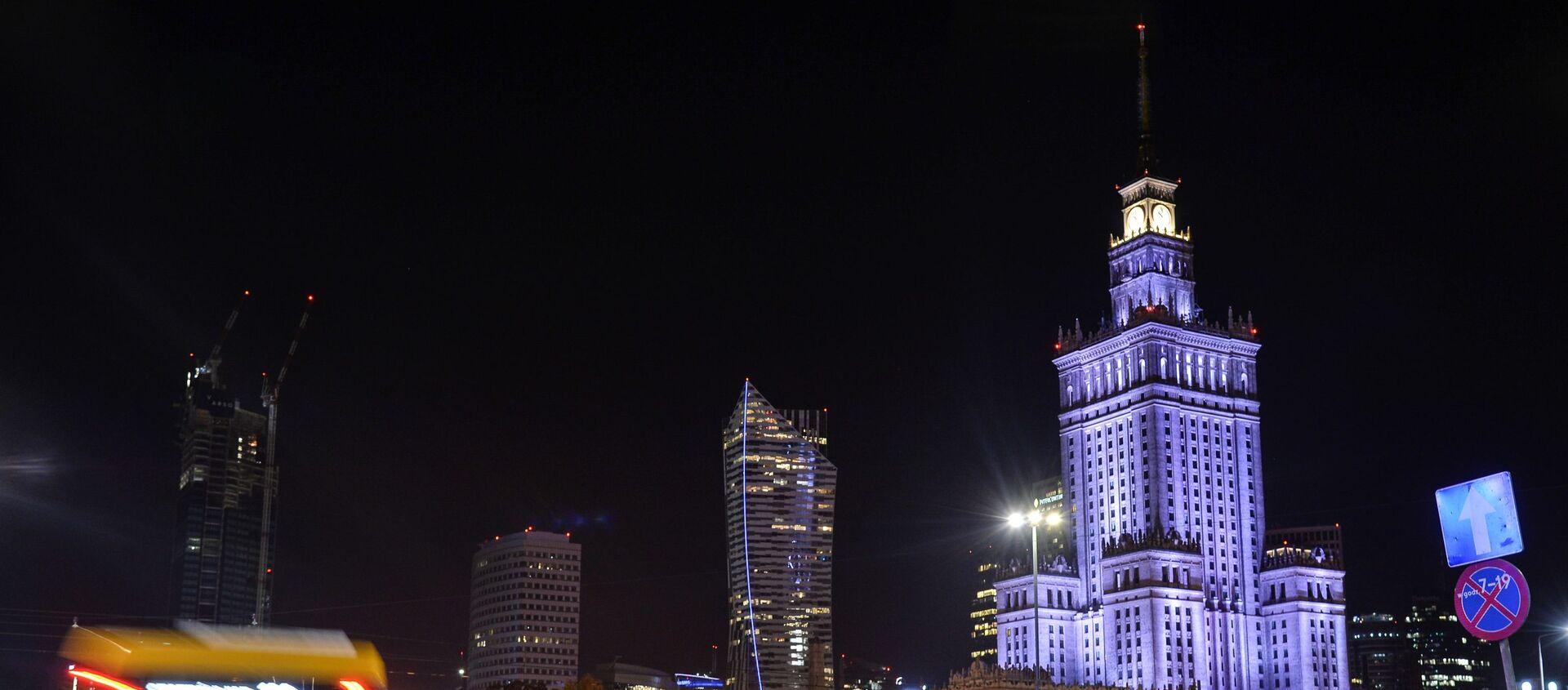 Warszawa nocą - Sputnik Polska, 1920, 27.11.2020