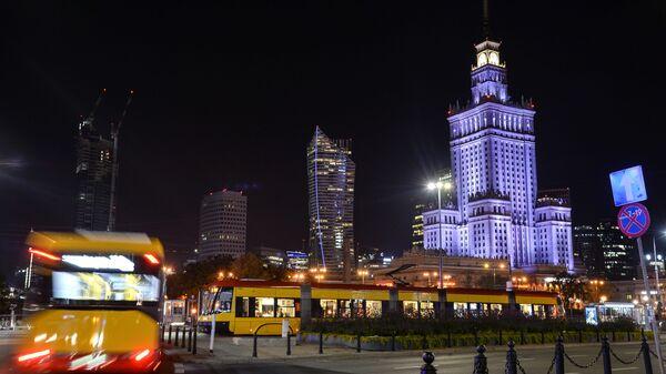Warszawa nocą - Sputnik Polska
