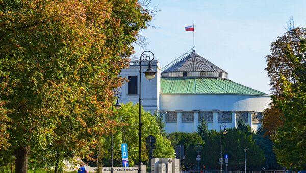 Budynek Sejmu - Sputnik Polska