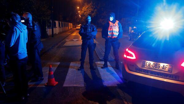 Policja na miejscu zdarzenia - Sputnik Polska