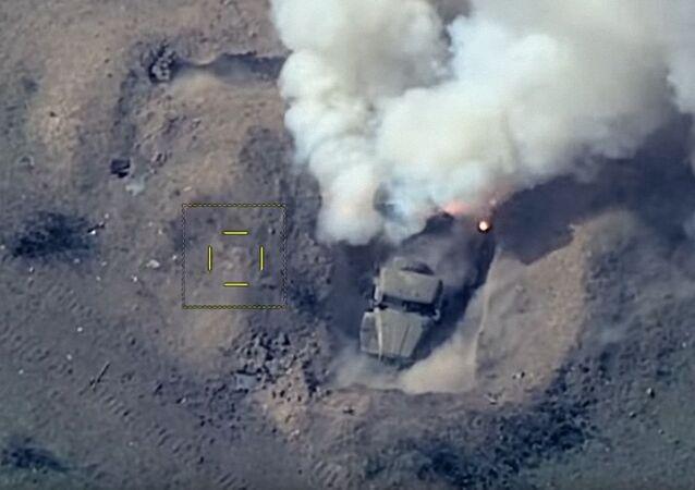 Atak Azerbejdżanu na pozycje obrony rakietowej Armenii.