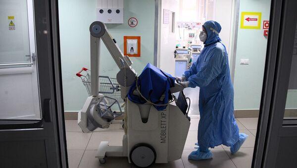 Pandemia koronawirusa SARS-CoV-2 - Sputnik Polska