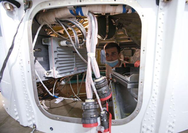 Montaż rakiet nośnych Sojuz-2 na terytorium RKC Progress w Samarze.