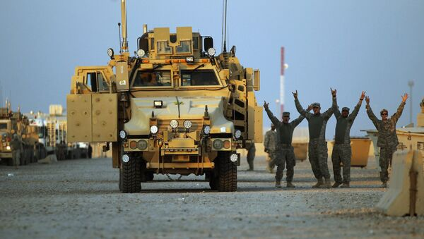 Wojska USA w Iraku - Sputnik Polska