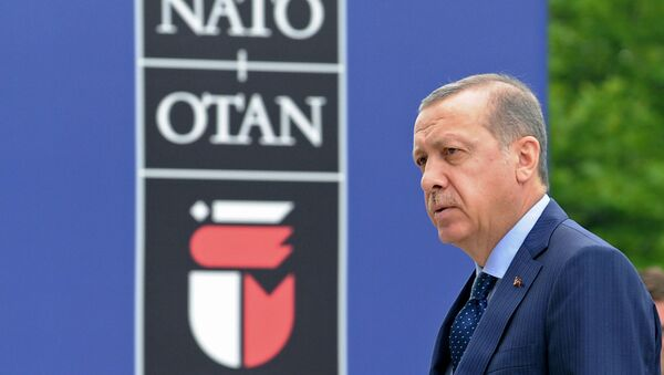 Recep Tayyip Erdogan  - Sputnik Polska