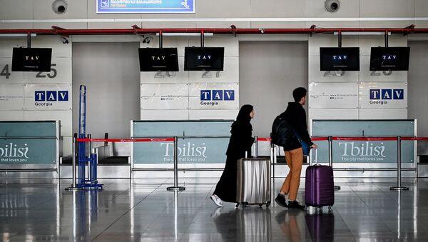 Międzynarodowe lotnisko Shota Rustaveli w Tbilisi - Sputnik Polska