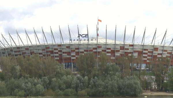 Szpital polowy na Stadionie Narodowym - Sputnik Polska