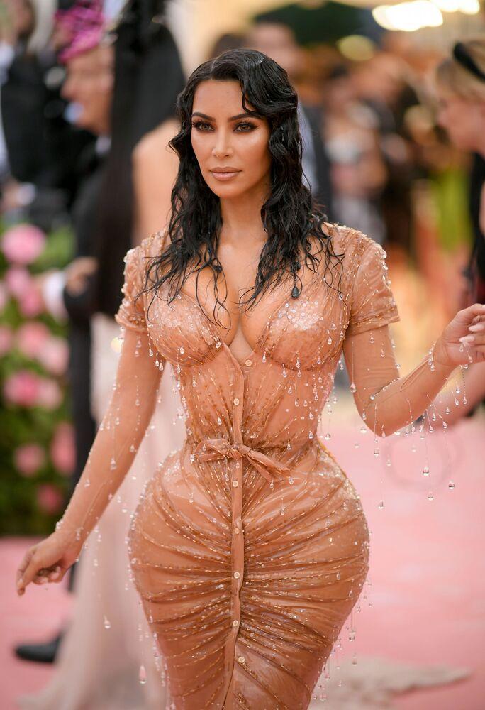 Kim Kardashian na Met Gala-2019 w Nowym Jorku