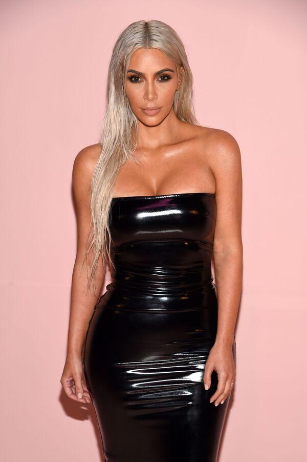 Kim Kardashian na pokazie mody Tom Ford wiosna-lato 2018 w Nowym Jorku, USA - Sputnik Polska