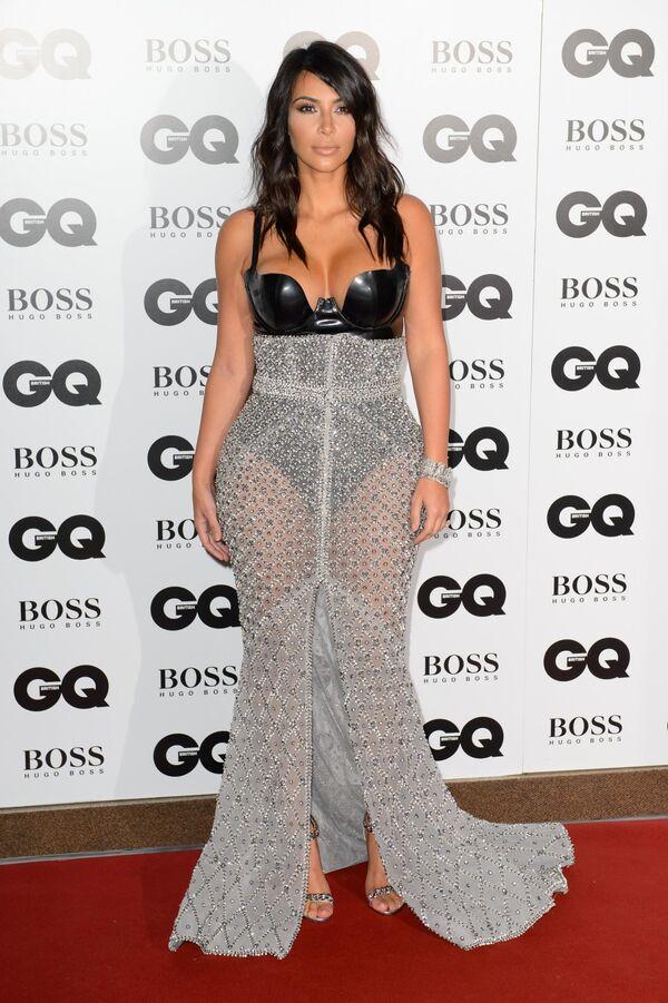 Gwiazda telewizyjna Kim Kardashian na ceremonii Man of the Year GQ w Londynie w Wielkiej Brytanii - Sputnik Polska