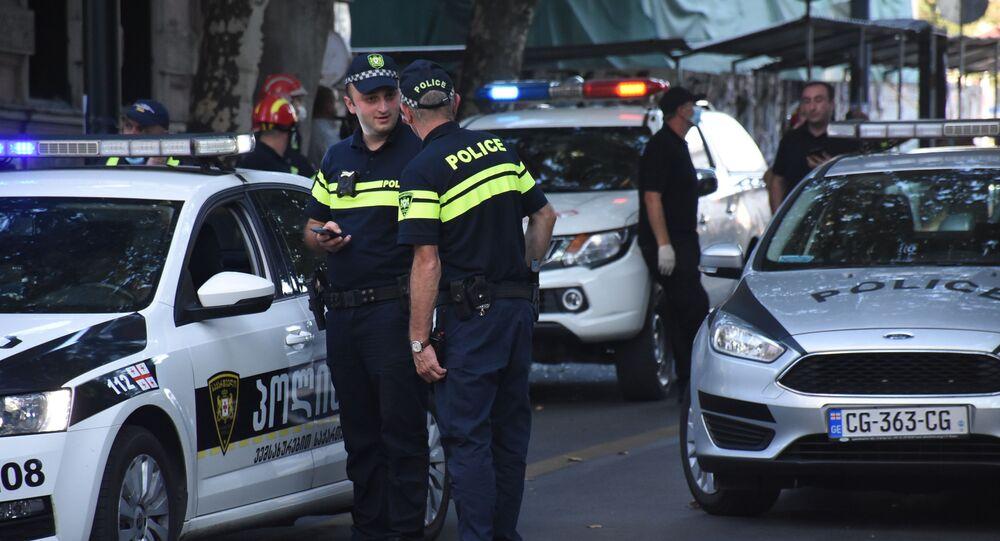 Policja w Gruzji