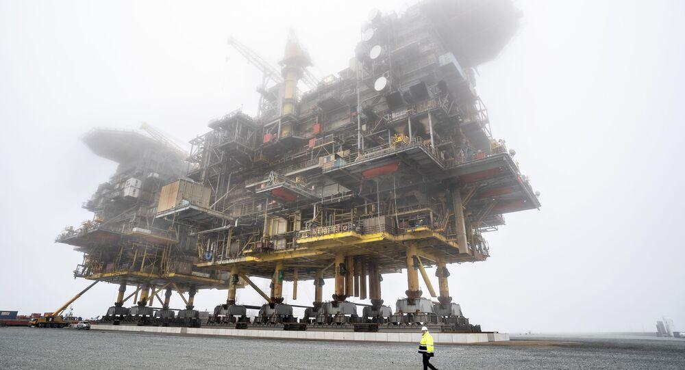 Platformy przetwórstwa ropy naftowej i gazu ziemnego Tyra East i Tyra West w Danii