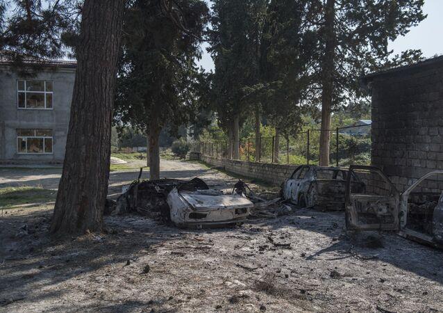 Konsekwencje ostrzału Martuni