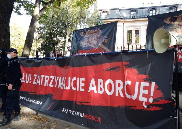 Demonstracja po orzeczeniu TK ws. aborcji