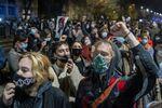 Protesty przeciwko zaostrzeniom przepisów aborcyjnych w Polsce