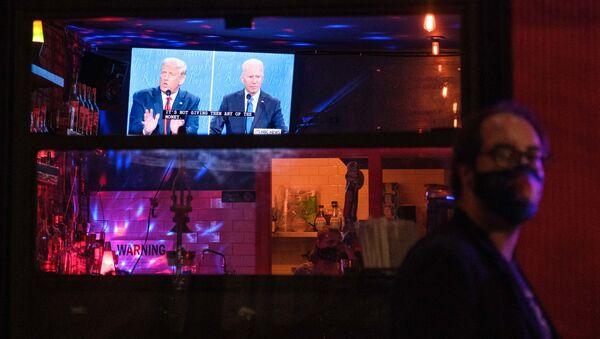 Debata prezydencka, USA - Sputnik Polska