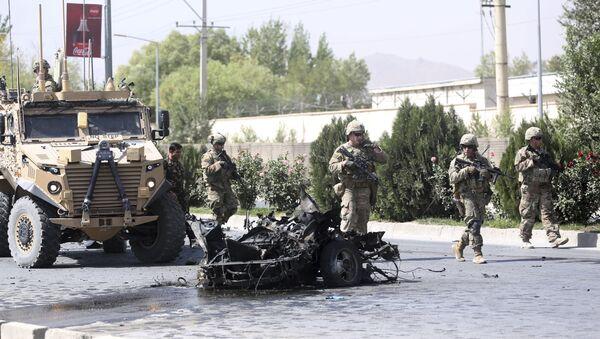 Amerykańscy żołnierze w Afganistanie, 24 września, 2017 r. - Sputnik Polska