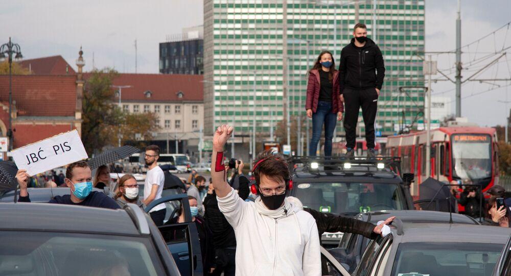 Protesty przeciwko zaostrzeniu przepisów dotyczących aborcji w Polsce, Gdańsk